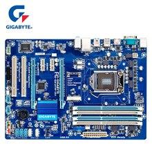 Gigabyte GA-Z77P-D3 оригинальная материнская плата LGA1155 DDR3 USB3.0 32G Z77 Z77P-D3 Z77P D3 настольная материнаская плата SATA3 работы устойчивый б/у