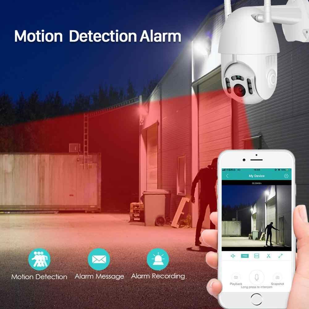 BESDER H.265 1080P Wifi Outdoor Waterdichte PTZ Camera Speed Dome ONVIF Draadloze Camera Two Way Audio Home Surveillance IP camera