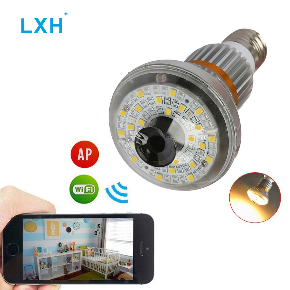 Здесь продается  LXH Y8 Free shipping WiFi Light Bulb LED Camera,960P HD Indoor WiFi Home Camera with Motion Detection for Via Android/IOS  Бытовая электроника