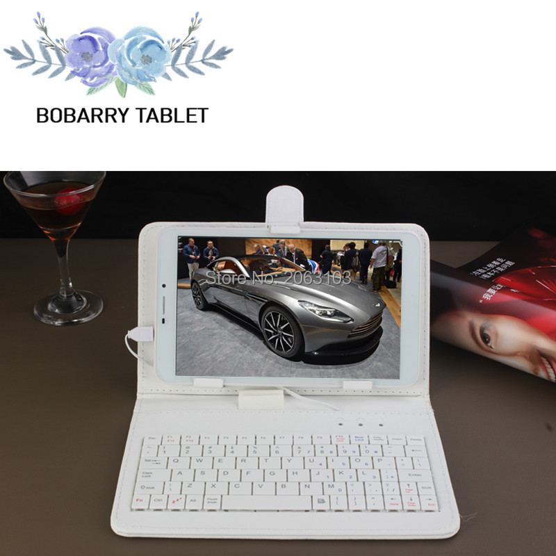 Free Gift Keyboard can add Russia or world language 8 inch Tablet phone android 5 1