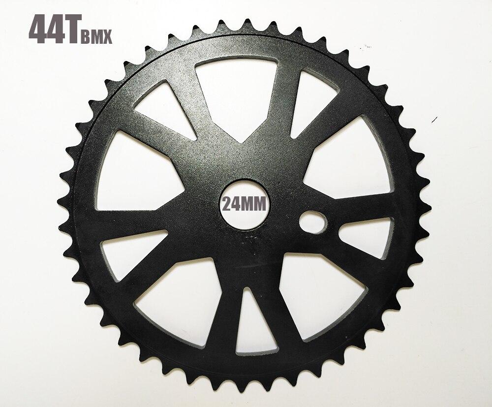 cool price Taiwan famous big size aluminum alloy 44T BMX bike chainwheel crank plate