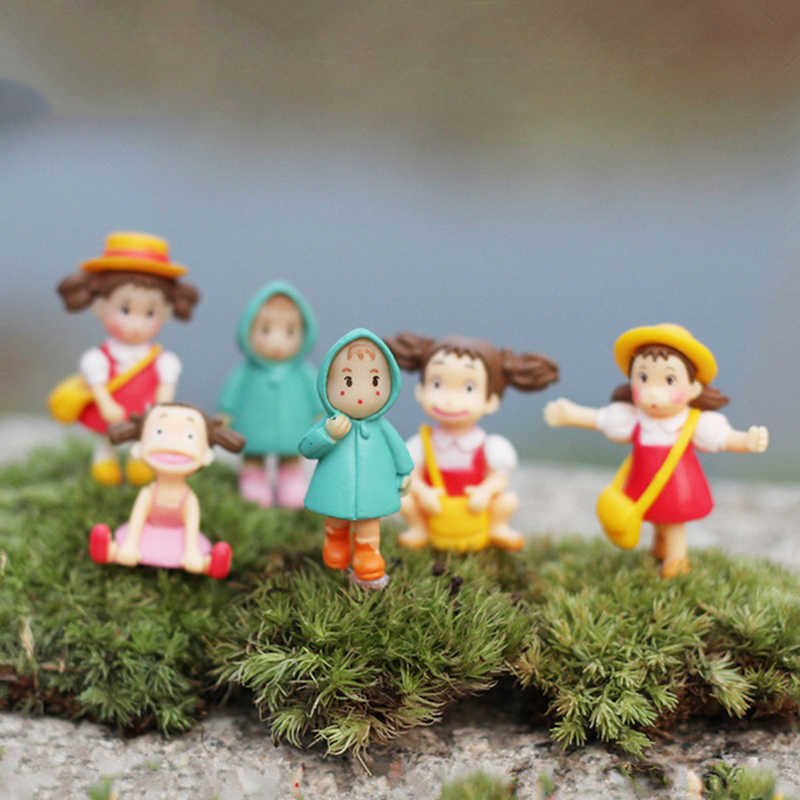 Nueva Kawaii mi vecino figura de acción de Totoro Hayao Miyazaki película figuras de juguete en miniatura lindo japonés figuras de juguete anime