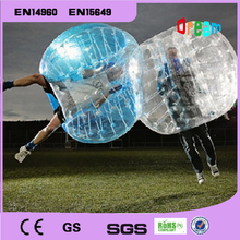 Free Shipping!1.5m 0.8mm PVC Transparent Inflatable Bumper Ball/Soccer Bubble Ball/Zorbing Ball/Loopy Ball