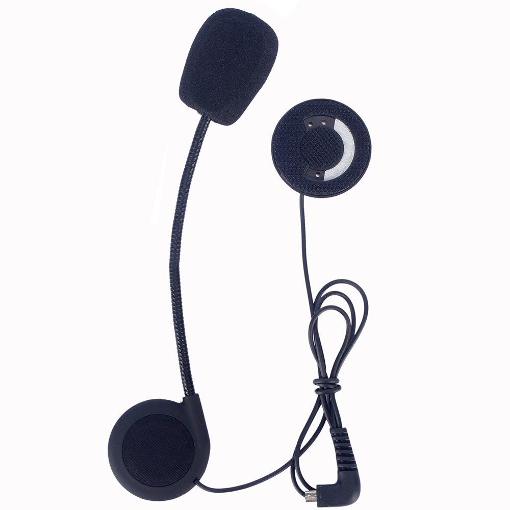 Helmet intercom accessories earphone microphone suit for FDCVB T COMVB TCOM SC COLO KIE motorcycle helmet