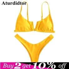 0315c5358632 Compra bikini red simple y disfruta del envío gratuito en AliExpress.com