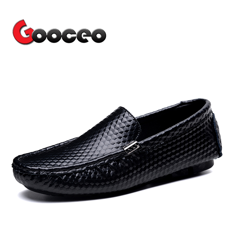 Mens Penny Loafers Driving Shoes Men Spring Summer Moccasins Flats Shoes Low-top Slip-On ...