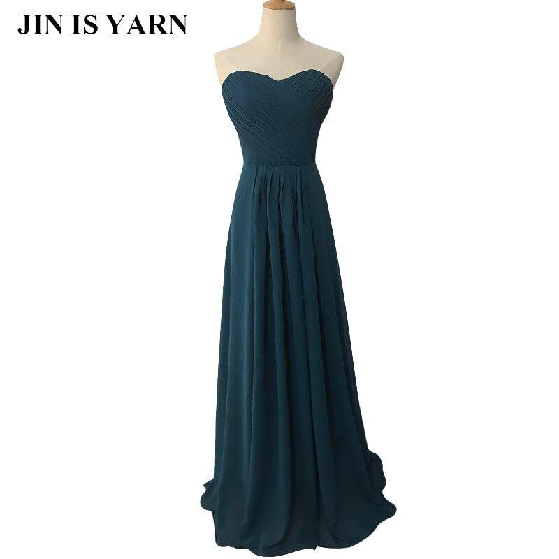 l hu00050 wine red mint green coranter jade colore chiffon strapless prom party   dresses   new fashion 2015   bridesmaid     dress   longd