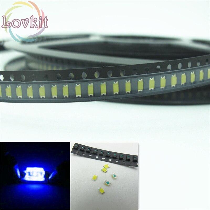 200 pcs SMD SMT 3528 Super bright BLUE LED lamp Bulb GOOD QUALITY