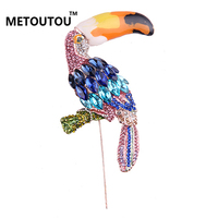 Fashion Beautiful The Birds Brooches Pins Collar Pin Scarf Banquet Wedding Accessory Beadwork Jacket Suit Broach