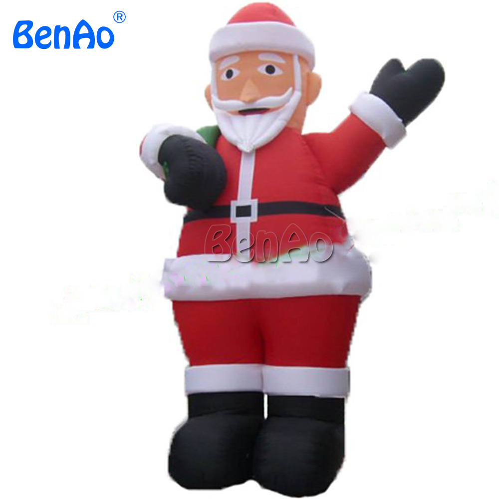 DC02 Inflatable Santa Claus x-mas decorations  CE/UL Fan  6m 20ft High Hot-selling christmas decoration father christams dolls 2017 hot selling christmas decoration inflatable snowman
