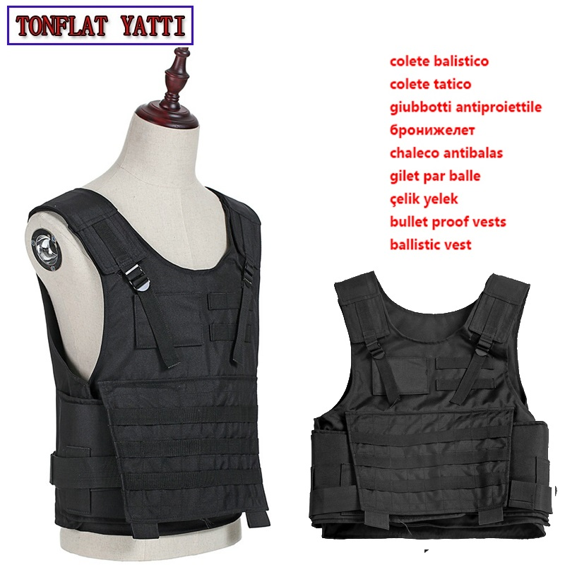 Bulletproof Vest Aramid Nij Iii Iia Iv 7.62mm Military Army Tactical Body-Armor-Bullet-Proof-600D Oxford Waterproof Wear Vest