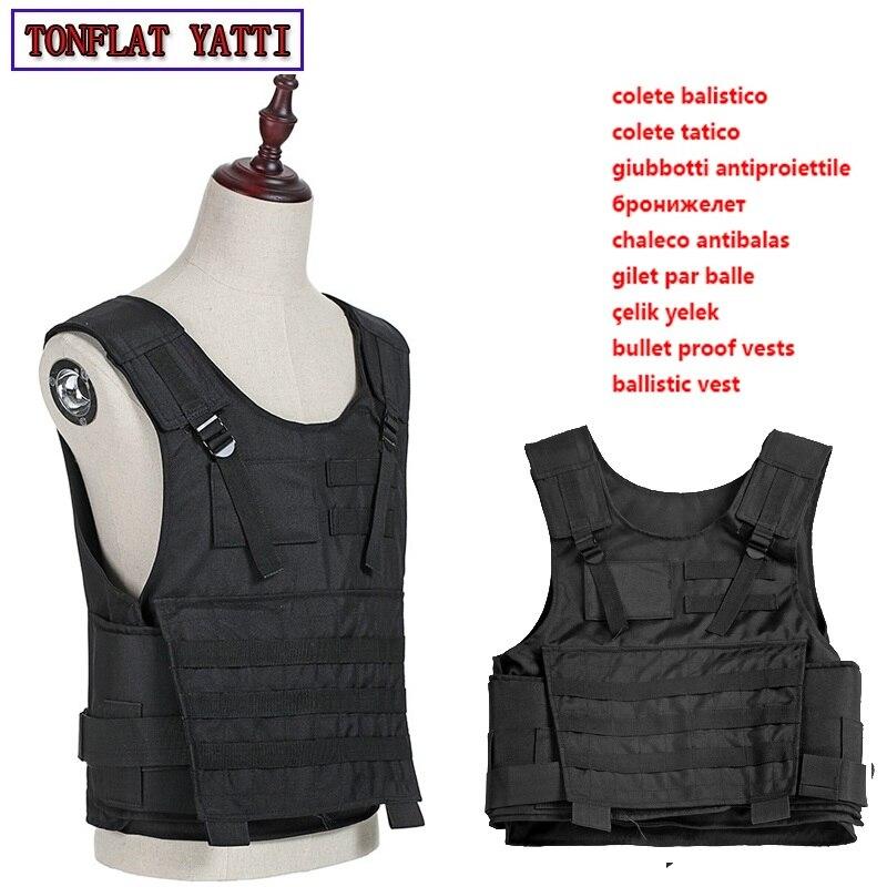 Bulletproof Vest Aramid Nij Iii Iia Iv 7.62mm Military Army Tactical Body-Armor-Bullet-Proof-600D Oxford Waterproof Wear Vest