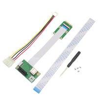 Express PCI E To Mini PCI E 1X Extension Cord Adapter Card With USB Riser Card