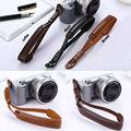 Pu pulseira de couro câmera pulso alça de mão grip para fujifilm finepix fuji XA3 XA2 X30 X20 X10 X100 X100S X100T XT10 XT1 XE2 XM1