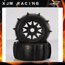 Rc Car Desert/Sand Rear wheel tire (x 2pcs/set) for baja 5t/5sc
