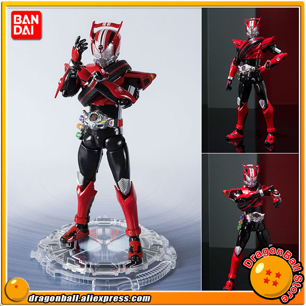 Original BANDAI Tamashii Nations S.H. Figuarts SHF Action Figure Kamen Rider Drive Type Speed 20 Kamen Rider Kicks Ver.