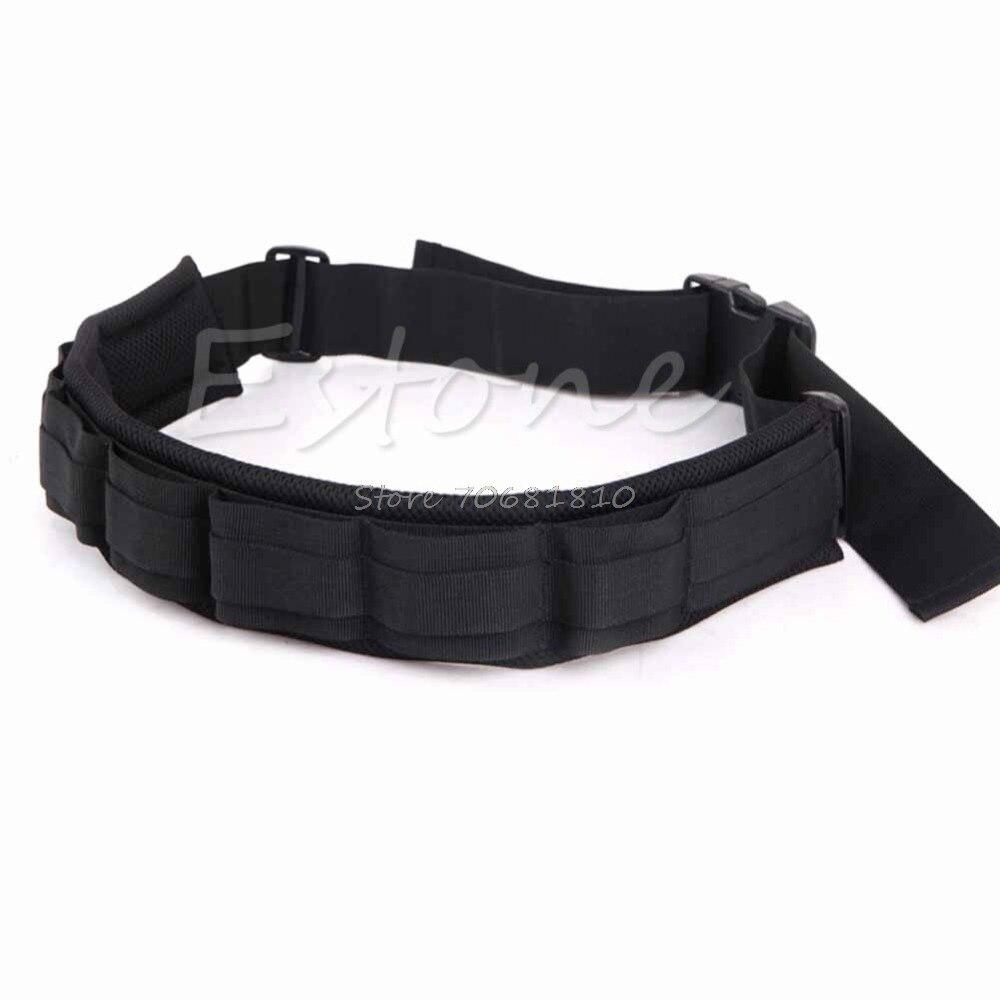 Adjustable Photograph Camera Waist Belt Sling Hang Strap Holder Lens Bag Black R179 Drop Shipping