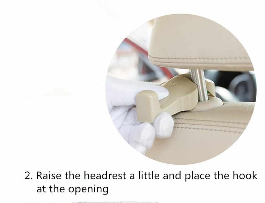 2 قطع سيارة مقعد هوك شماعات محفظة حقيبة حامل ل صعب 9-3 9-5 9000 93 95 ملليجرام GT MG3 MG5 MG6 MG7 MG3SW MGTF اكسسوارات