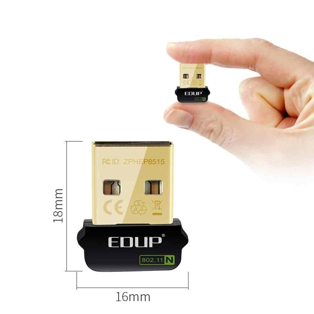 Mini USB 150 mb/s 802.11n adapter wifi bezprzewodowy karta sieciowa EDUP EP-N8508GS bez sterownika dla Raspberry bez opakowania detalicznego