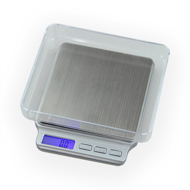ACCT 3000g / 0.1g Balance Precision Digital Scale Portable Mini Electronic Pocket Weight Tools Postal Kitchen Jewelry Scales