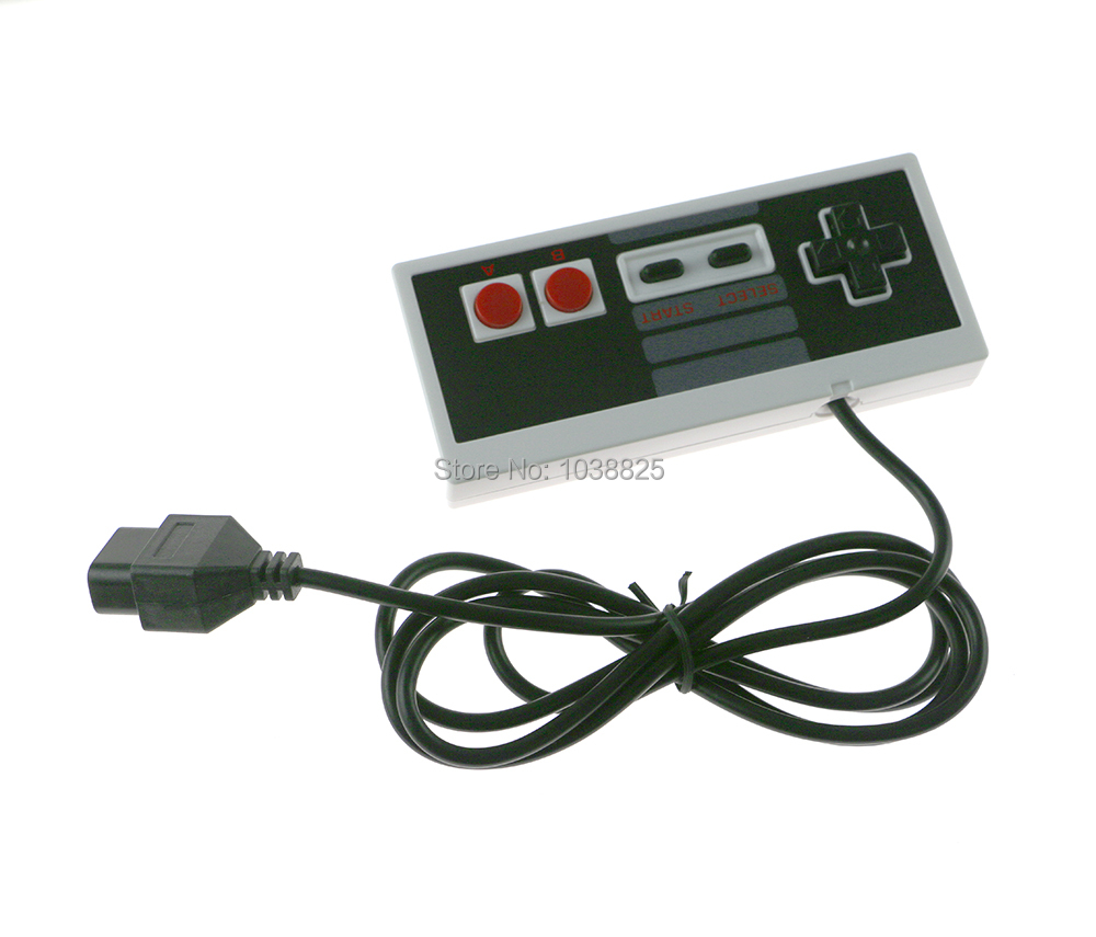 10pcs/lot Interface wired Controller for console joypad Game Famicom Gamepad for NES FC classic