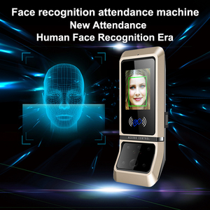 Image 1 - Face Access Control System Face Recognition Door Lock Biometric System USB Time Clock Recorder For Office Employee Equipment