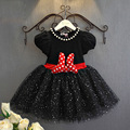 1pcs Baby Girls Summer Minnie Dresses Children Party Frock For Girls Prom Princess Costume Child Minnie Dress Deguisement Enfant