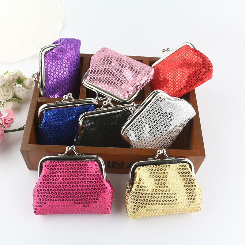 2017 New Fashion Casual Women Small Coin Purse Metal Button Pocket Coin Money Wallet Credit Card Holder Key Pouch Clutch Bag cute women s wallet leather small wallet fashion credit card holder zip coin purse clutch handbags mini money bag hot sale page 3