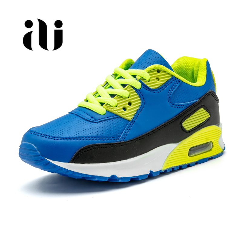 Image 2 - Spring New Kids Pu Leather Shoes Baby Girls Sport Sneakers Children Mesh Shoes Boys Fashion Casual Shoes Soft Brand Trainer 2019-in Sneakers from Mother & Kids