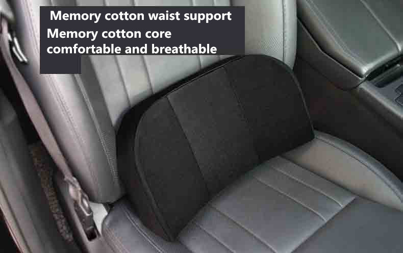 Auto Lumbar Cushion, Office Seat Back Waist Support Pillow