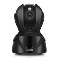 SANNCE Mini Camara CCTV 2.0 Megapixel 1080P 8XZoom IP Camera H.264 Wireless Supprt 64GB 1920*1080P Full HD WIFI IP CAM