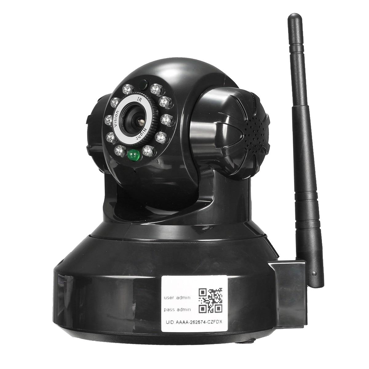 Safurance Wireless HD 720P P2P WiFi Network Home Security Surveillance Pan Tilt IP Camera Safety