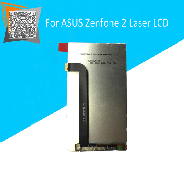 100% Original for ASUS Zenfone 2 Laser ZE500KL 5.0 LCD Display Inner Screen Replacement