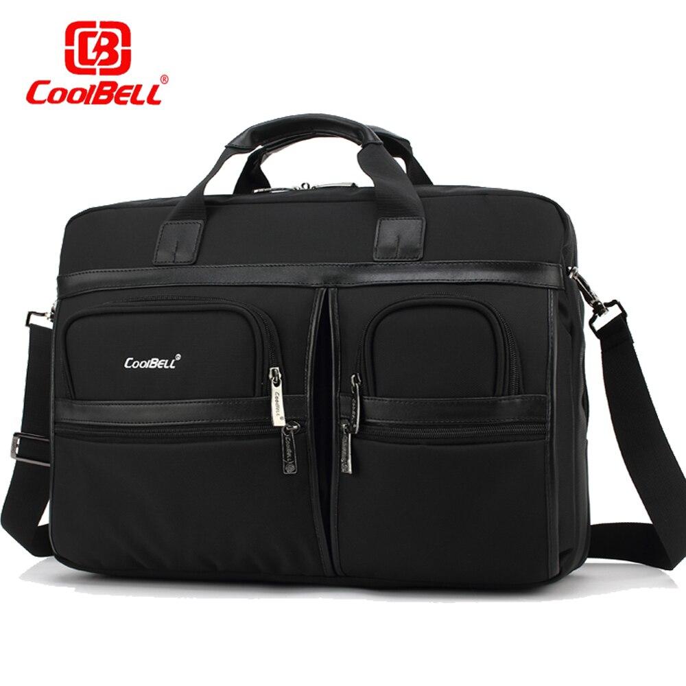 Большой Ёмкость Бизнес сумка для ноутбука 17.3 15.6 дюймов Тетрадь сумка Для женщин мужчин Multi-отсек компьютера Портфели