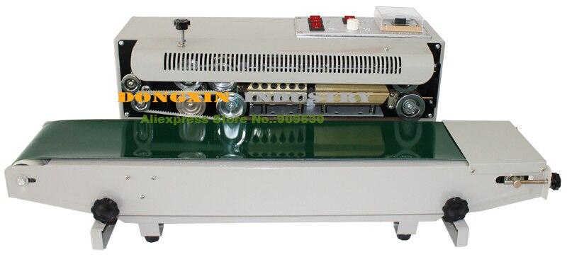 Automatic Horizontal Continuous Plastic Bag Band Sealing Sealer Machine FR770 110V/220V  цены