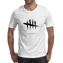 Dead By Daylight T Shirt Video Game Poster Print Brand Novelty T-shirt Style Cool Pop Unisex Tee
