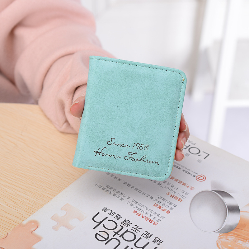 Women wallets designer brand luxury women short wallet card holder Female Clutch Ladies wallets small and slim hand bag carteira 6