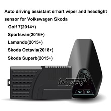 купить Auto driving assistant smart wiper and headlight sensor for VW Volkswagen Golf 7 Sportsvan Lamando  Skoda Octavia Superb по цене 16934.11 рублей