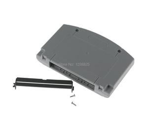 Image 3 - 10 sets/partij Vervanging Game Card Shell voor Nintendo N64 Game Cartridge Cover Plastic Behuizing