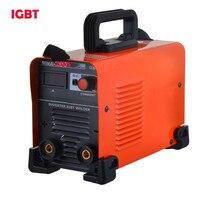 Inversor IGBT Barato AC 220 v Máquina De Soldadura Eléctrica, Mini Portátil MMA-225 ARCO Máquinas De Soldadura Soldadores PALO 2.5mm Electrod