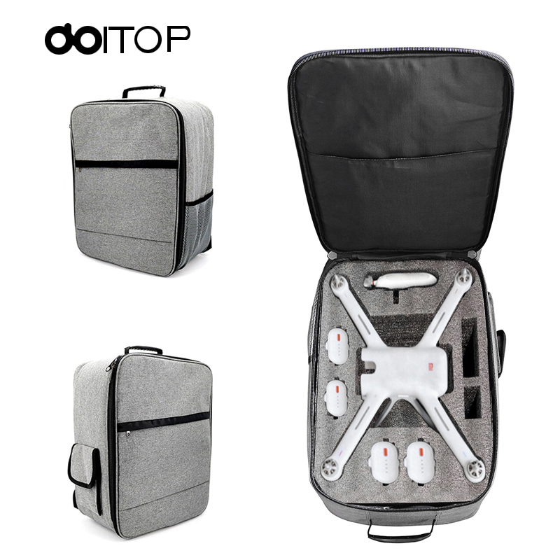 DOITOP Drone Backpack Storage Bag for XIAO MI UAV Outdoor Waterproof Carry Bag Handbag for Xiaomi 4K RC Quadcopter Accessories20