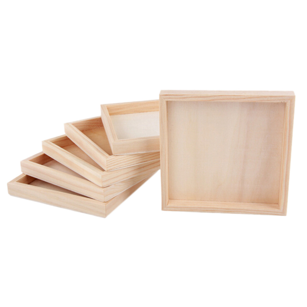JIMMY BEAR 1 Pcs Wood Plate for Six Sided Painting Building Block Wood  Pallet 12cm X 12cm-in Model Building Kits from Toys & Hobbies on  Aliexpress com