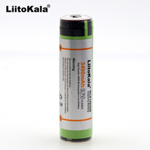 6 pcs. new original 18650 Liitokal NCR18650B 3400 mAh rechargeable lithium battery 3A continuous discharge Protection board
