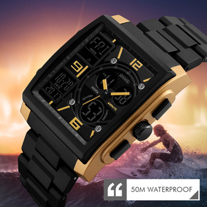 Image 3 - SKMEI צבאי ספורט שעון גברים למעלה מותג יוקרה עמיד למים אלקטרוני דיגיטלי יד שעונים עבור גברים זכר שעון Relogio Masculino