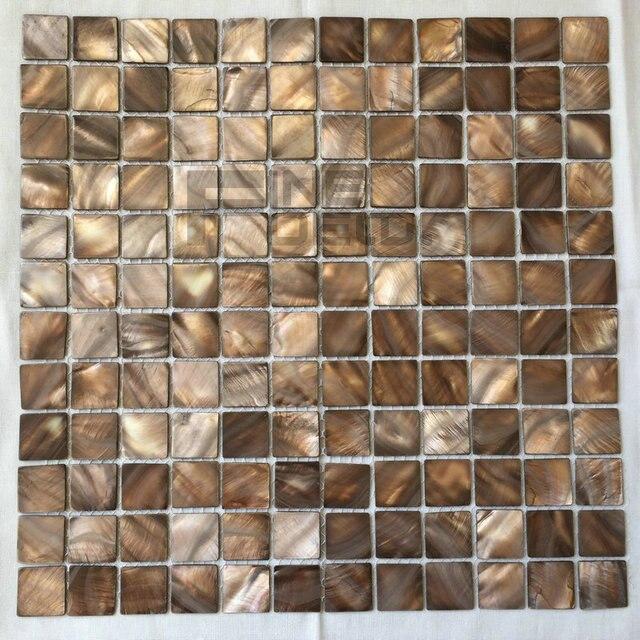 Grau Farbe 100% Natürliche Süßwasser Shell Perlmutt Mosaik Fliesen Für Badezimmer  Dekoration