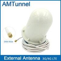 3 Gam 4 Gam antenna GSM ăng ten ngoài 4 Gam LTE ăng ten LTE1800MHz Omni ăng ten ngoài trời với SMA nam nối và 5 meter cáp