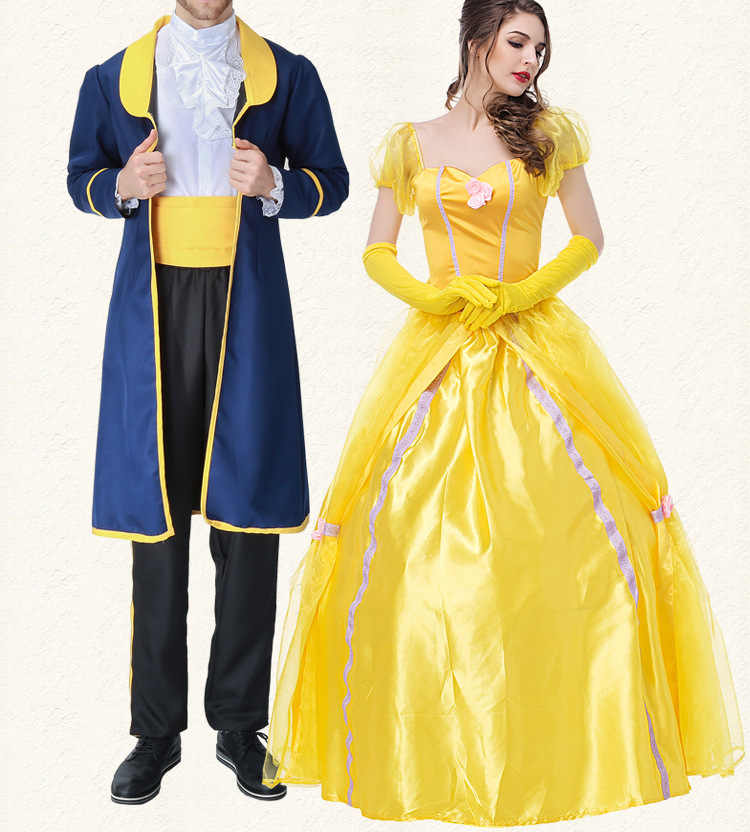 Prince Beast Costume Beauty And The Beast Costume Cosplay Fantasy Halloween Costumes For Men Costume Couple Costume Party Anime Costumes Aliexpress