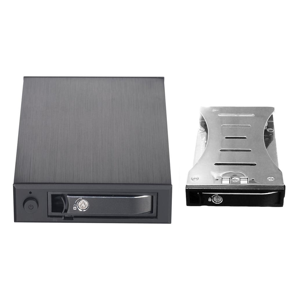 2 5 Aluminum SATA Removable Hot Swap Internal Mobile Rack for 2 5 SATA HDD SSD