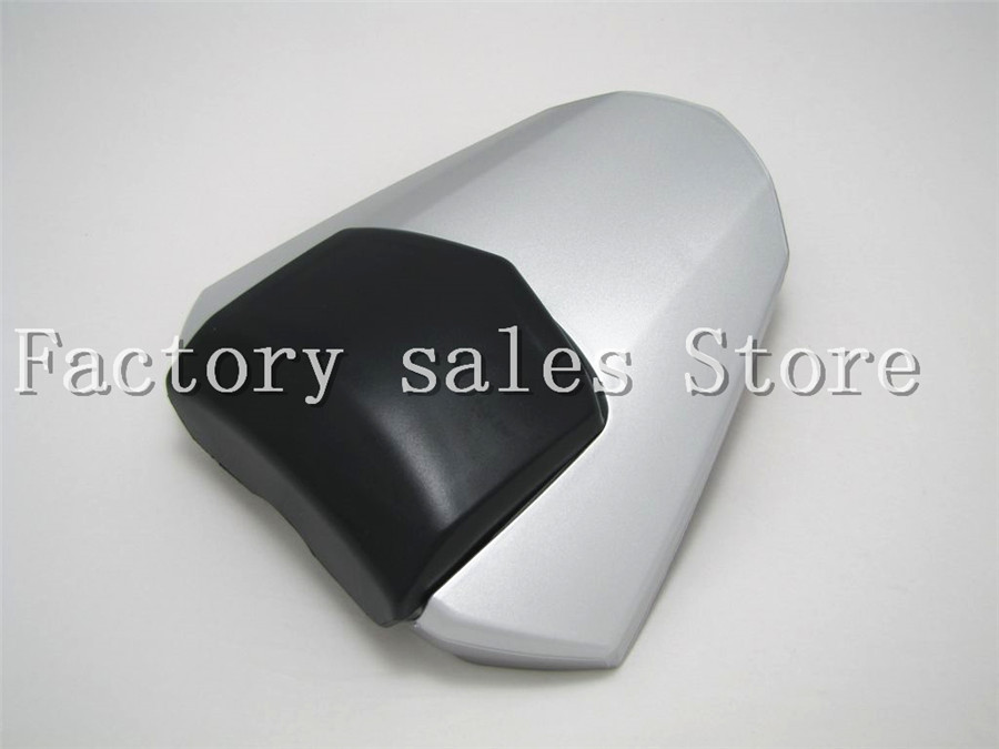 For Yamaha YZF600 YZF 600 R6 2008 2009 2010 2011 2012 2013 2014 2015 2016 Silver Rear Seat Cover Cowl Solo Racer Scooter Seat