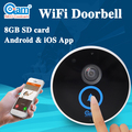 Waterproof Wireless Wifi Doorbell Door Bell Video Door Phone With HD 720P IP Camera And Doorbell Speaker Built In 8G TF Card
